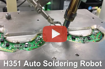 H351 automatic soldering robot